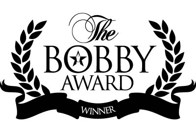 Bobby Awards Winner Logo Monochrome