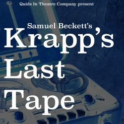 deconstruction krapps last tape Years before i did krapp's last tape i'd seen patrick magee and jack  macgowran do it – both of the bishops of the church of beckett magee.