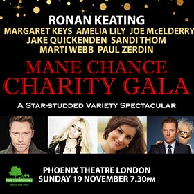 Save up to 72% on the Mane Chance Charity Gala with Ronan Keating