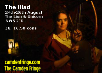 Camden Fringe Iliad