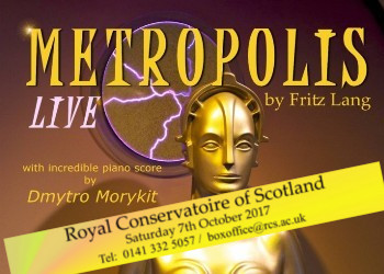 Metropolis LIVE - An incredible piano concert alongside Fritz Lang's iconic film